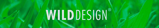 The key visual gras is one part of the corporate identity of Wilddesign