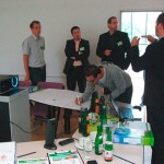 Gruppenarbeit beim innovation-management Training mit Verhaert