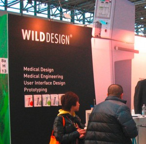Wilddesign Messestand auf der Compamed / Medica 2012