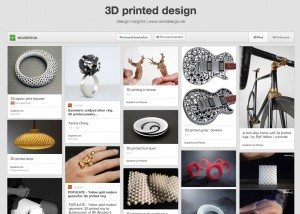 3D printed product design