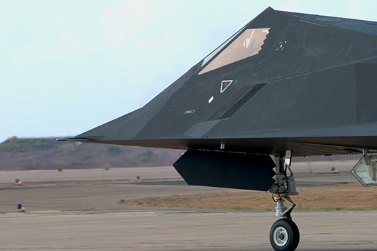 Stealth design F117