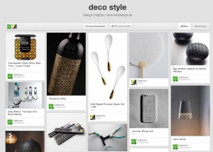 cool deco produktdesign style