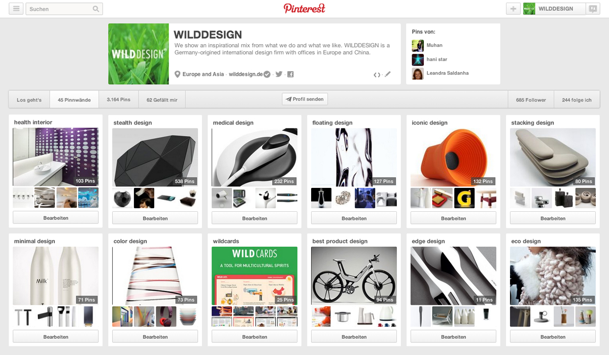 Wilddesign on pinterest