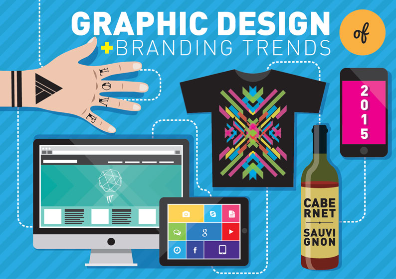 Graphic Designer Trend: Graphic Design And Branding Trend Preview 2015