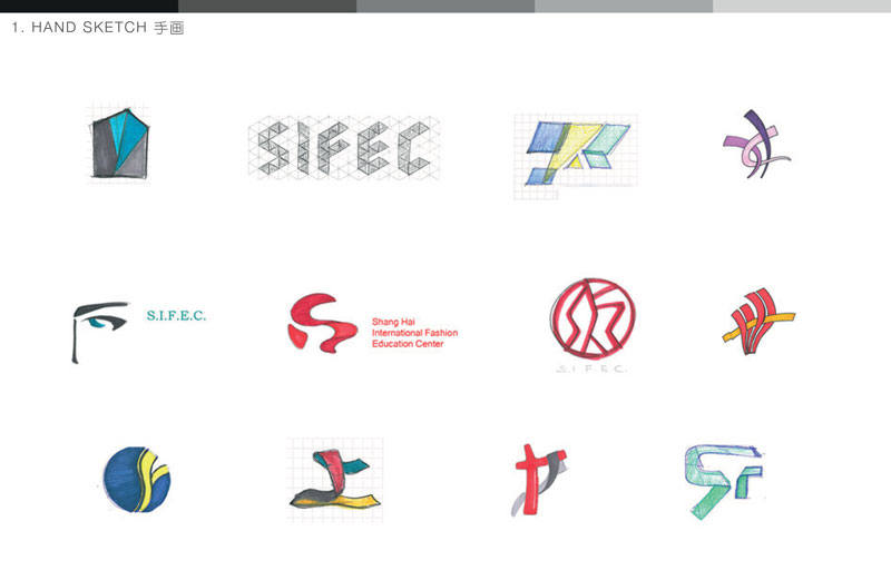 Designing a Logo: Behind the Curtains: SIFEC | WILDDESIGN